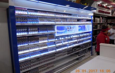 ADV Production сигаретные дисплеи черный рынок флэпы напольный диспенсер модульные сигаретные шкафы лайтбокс промозона пушер
