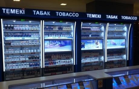 ADV Production, табачный шоп ин шоп, табачный шкафы, табачный отдел, производство табачного оборудования литье пластик метал